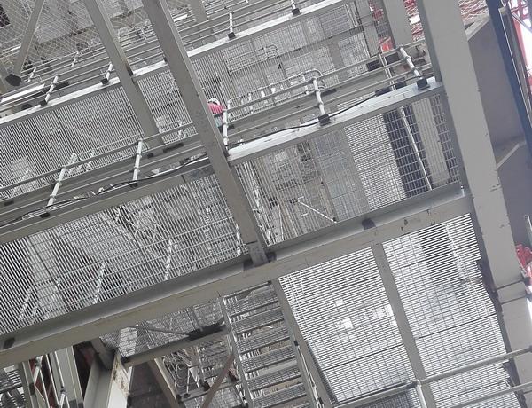 神华电厂大型锅炉钢格板平台