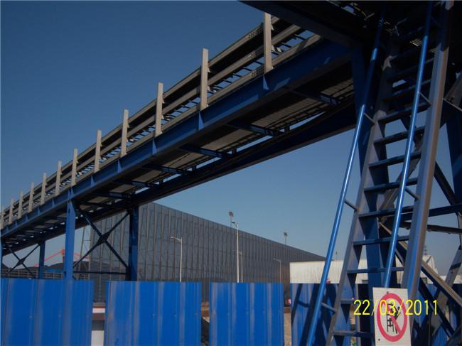 港口码头传送带用钢格栅板